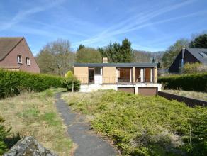 Deze grote te renoveren bungalow is gelegen op een prachtig perceel van 1264m2. De vrijstaande woning is volledig omringd door groen en beschikt achte