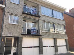 Ruim APPARTEMENT met 3 slaapkamers, balkon en garage te huur in het centrum van Diest, Kardinaal Mercierstraat 24 Dit appartement is gelegen in op de