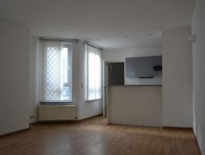 Mooi, knus appartement op de 2de verdieping. Inkomhal met apart toilet, living met open, volledig ingerichte keuken ( kookplaten, frigo, dampkap). Rui