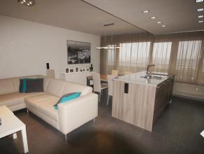 Luxueus gerenoveerd appartement op de 8ste verdieping met lift in het stadscentrum binnen de kleine ring. Het appartement omvat inkom, toilet, badkame