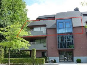 Luxueus duplex-appartement  van 190m2 met 34m2 terras.<br /> Rustig en zeer centraal gelegen aan het Villerspark in een kleine standingvolle residenti