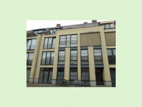 Een modern appartement te Hasselt. Dit duplex-appartement bestaat uit twee slaapkamers, dressingroom, een ingerichte keuken en badkamer, living, bergi