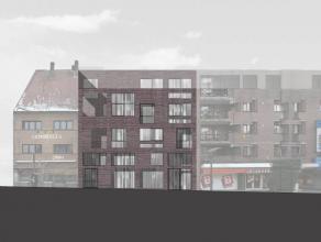 Commerciële ruimte (winkel/kantoor) op topligging in verkeersvrije straat. Het is gelegen in een eigentijds nieuwbouwproject ontworpen door archi