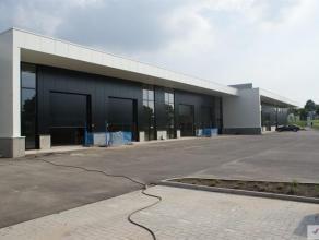 Bedrijfsunit van 212m² gelegen op het nieuwe bedrijvenpark 'Ekkelgarden', op het gelijknamig industrieterrein te Hasselt. Zeer goede ontsluiting