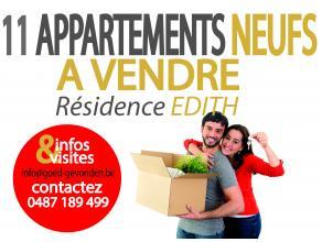 In deze gezellige residentie, afgewerkt met kwaliteitsvolle materialen wordt u aan interessante prijzen appartementen aangeboden voorzien van; <br />
