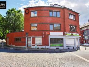 Liège : Immeuble de rapport avec rez-de-chaussée commercial et 2 appartements de 1chambre. Le tout avec un très bon rendement pot