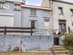 SERAING (Chatqueue) : sur les hauteurs du quartier de la Chatqueue, coquette maison idéale pour une jeune couple ou pour une personne seule.  L