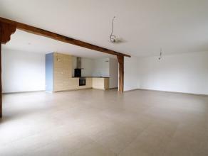 Magnifique appartement entièrement rénové (2ème étage) se composant: hall d'entrée, grand living, cuisine se