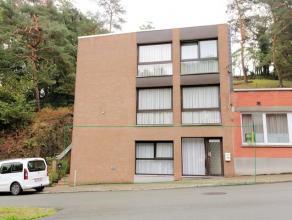 Petit appartement au rez-de-chaussée se composant: un living/cuisine (18m²), salle de bain (4m²), 1 chambre (10m²). Loyer: 500eu