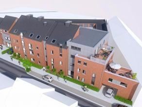Nouveau projet immobilier - Appartement de standing situé en plein centre de Waremme. Il sagit de la 12ème réalisation de la soci