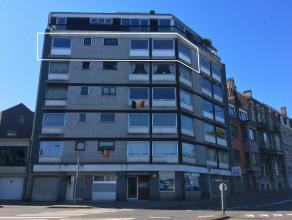 VERVIERS (rue de Dinant): APPARTEMENT 2 CHAMBRES A LOUER A proximité immédiate de toutes facilités et offrant une vue exceptionne