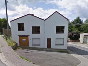 HERVE (Centre) : Maison avec garage  vendre Dans le centre de Herve et au cur du Plateau, maison  rafraichir composée de 2 chambres  coucher, b