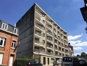 VERVIERS (Av. Mullendorf) : Appartement 1 chambre + parking Situé  proximité du centre-ville et de ses commodités, appartement co