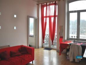 NAMUR boulevard Cauchy 20. Bel et lumineux appartement de 50 m² idéalement situé à proximité du centre-ville, &agrave