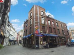 En plein coeur du vieux  NAMUR DUPLEX comprenant un séjour avec coin cuisine équipée, 1 chambres, 1 SDB et une mezzanine.<br /> I