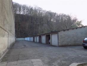 Avenue Reine Astrid, 71/14 à 5000 NAMUR. Garage fermé situé à l'arrière de la Résidence Diane à salzi