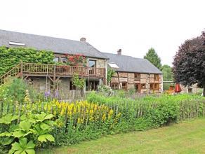 Magnifique propriété de 2hectares, située au calme, ds le joli village de Wéris. Elle profite d'une spacieuse fermette r&e