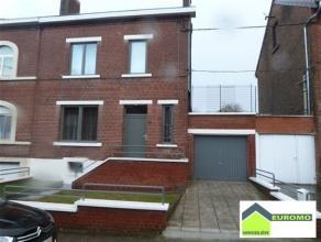Superbe maison 3 chambres avec jardin et garage, entièrement rénovée,à 3' de la gare de Charleroi Sud, à 5' des &ea