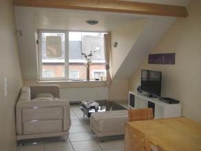 Zeer mooi duplex geheel comfort in het centrum van Bastogne omvat salon, eetkamer, zeer ingerichte keuken, badkamer (douche), 2 slaapkamers - huur 550