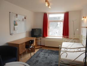 Zeer mooie studio in het centrum van Bastogne - bestaat uit woonkamer met eethoek en badkamer (douche). Voorzieningen : centrale verwarming electricit