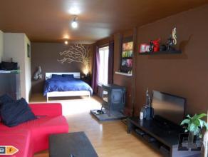 A vendre dans le village de Lierneux, petit bungalow dune chambre partiellement rénové, disposant dune belle vue sur la vallée et