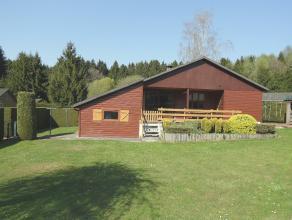 Barvaux: Beau et grand chalet 3 chambres, séjour, cuisine équipée, garage. Jardin très bien orienté de 8a18.<br />