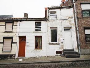 Jemappes rueTournante n° 12/14, 2 maisons à restaurer comprenant : N° 12 : 1 pièce avant, cuisine, salle de bain donnant acc&egr