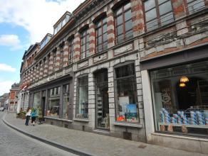 Mons, rue du Hautbois 14-E, très bel appartement de charme comprenant : séjour avec cuisine équipée, salle de bains, 2 cha