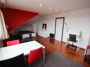 """Rue Antoine Clesse 24 boite 10. Résidence Le Damocles"""". Situé au 5ème étage (dernier). Studio 28 M² entièremen"""