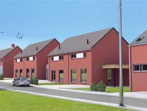 Plateau de Bellecourt 30 nouvelles maisons jumelées dont lot 82 : unifamiliale 3 façades et carport sur 6a 58ca. Rez : hall d'entr&eacut