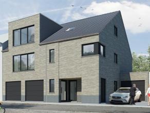 A LOUER(HERSEAUX)Appartement NEUF avec 2 chambres, jardin et garage, se composant de :Rez-de-chaussée : hall d'entrée, WC sépar&e