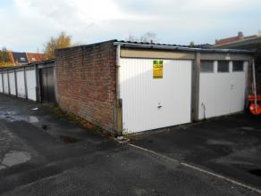 Garagebox met vlotte in-en uitrijfaciliteiten.
