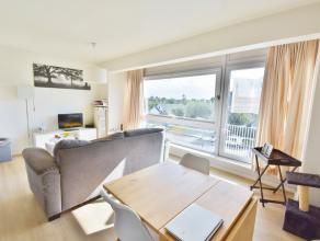 Zonnig appartement op wandelafstand van het strand. Het appartement omvat een ruime woonkamer, keuken, toilet, berging, badkamer met enkele lavabo en