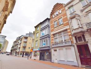 Gezellig 1-slaapkamer appartement in hartje Blankenberge. Dicht bij de zeedijk, winkels, tramhaltes, enz.<br /> <br /> Bestaande uit: inkom met ingebo