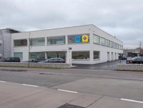 Verhuurde kantoorruimte (114m²) op industriezone Herdersbrug te Brugge.<br /> <br /> INDELING:<br /> - kantoor (114m²) bestaande uit open bu