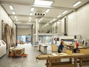 Nieuwbouw KMO-unit (252m²) op industriezone te Aalter. Centraal gelegen op slechts enkele km van de E40.<br /> <br /> AFWERKING:<br /> Gepolierde