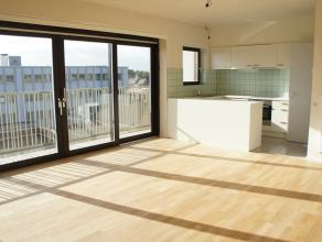 Dit appartement is gelegen boven K in Kortrijk. Het appartement beschikt over een ruim zonnig terras dankzij de zuidelijke oriëntatie.<br /> Geze