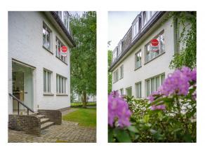 """Ruim, lichtrijk appartement (95m²) in residentie """"Marly"""" op de eerste verdieping met 2 slaapkamers, lift en aangelegde gemeenschappelijke tuin. D"""