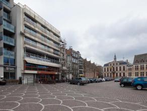 Dit stijlvol ingericht appartement op de Grote Markt van Roeselare bevat een inkomhal - apart toilet - berging - slaapkamer - badkamer met douche - vo