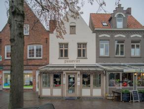 Overname handelsfonds van een volledig ingerichte en instapklare brasserie op een goeie commerciële ligging in het centrum van Brugge.<br /> <br