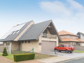 Deze villa situeert zich in een rustige wijk in het landelijke Ichtegem op een perceel van 725m². Op een boogscheut bevindt u zich van het centru