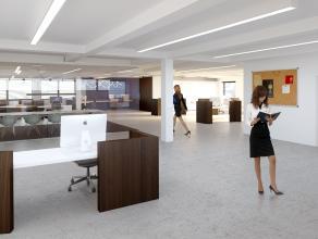 Kantoren (vanaf 150m²) op de eerste verdieping, op een schitterende ligging die bereikbaarheid met zichtbaarheid combineert. <br /> <br /> Bushal