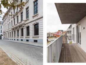 """Dit appartement situeert zich in het hartje van de stad Gent en is gelegen aan de achterzijde van de residentie """"Kouterhof"""". Het project waar dit appa"""