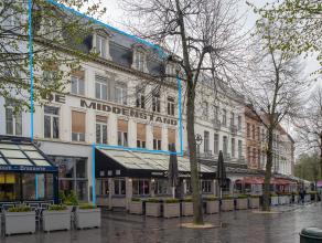 Kantoorgebouw (500m²) op een toplocatie in het centrum van Brugge.<br /> <br /> INDELING:<br /> Kantoorgebouw bestaande uit:<br /> <br /> > Ge