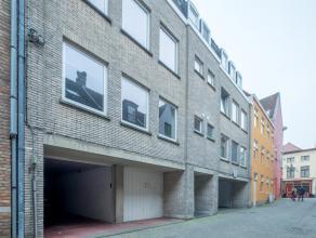 Bovengrondse garagebox met plaats voor 2 wagens gelegen in de Kastanjeboomstraat tussen de Groenerei en de Katelijnestraat, op een boogscheut van de O