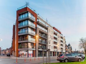Residentie Vijversche gelegen op de hoek van de Spanjestraat - Jules Lagaelaan maakt deel uit van de stadsvernieuwing van de stationsbuurt.<br /> <br