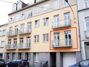 Knus appartement met 1 slaapkamer in de residentie Lombardië. Dit project is gelegen aan het gerechtsgebouw en heeft voldoende parkeerplaats in d