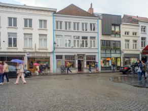 Overname van een volledig geïnstalleerd handelspand op een toeristische ligging in het centrum van Brugge (ter hoogte van de splitsing Oude Gentw