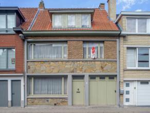Praktisch ééngezinshuis met 5 gerieflijke slaapkamers, garage en koer (46m²). Dit huis geniet van een centrale ligging langs de Bri