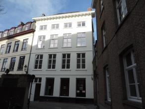 Prachtig appartement (3de verdiep met lift) in een gerestaureerd historisch pand in centrum Brugge met fantastische zichten, veel oog voor detail en b